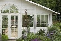 Garden house // orangery / Inspiration for my new home made garden house
