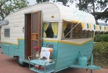 Retro Campers / I love these little campers and would love to own one for weekend getaways.