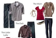 Photography ~ What to wear for Family Portraits