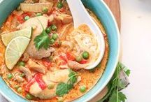 Recipes // Soups, Stews, Chilis / You gotta love a bowl of soup to warm you up on a cold or rainy day.