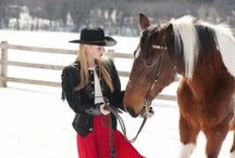 Photography ~ Cowgirls... love of a girl and her horse / Horses are so beautiful and when you add a lovely lady or cowgirl to the image it becomes a master piece of love. ♥