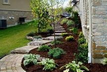 Porch/Patio/Yard Ideas / Landscaping, Patio, Porch