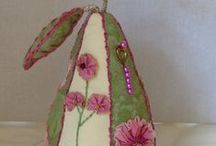 Pincushions / Hand Crafted Pincushions / by Anne Mann