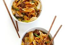 Recipes // Asian Dishes / Whether it's an appetizer, soup, or main dish, asian dishes are my favorite!