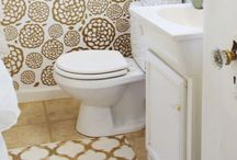 Home // Bathroom & Laundry / Inspiration, ideas and decor for the bathrooms and laundry room.