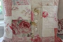 Quilts & Projects Made with Quilts / Old quilts...soft...warm...cuddly.  Each one is stitched with love!
