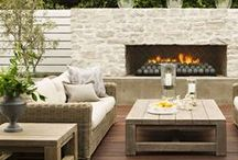 Home // Outdoors / Having a yard and outdoor area for entertaining is one of the priorities for my next house! These are some of my favorite ideas.