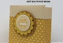 Stampin' Up! Gift Bag Punch Board / Make gift bags the easy way!