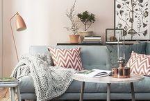 Interieur inspiratie / Interieur inspiratie met strakke interieur-stijl, cactus trends en Scandinavische invloeden!
