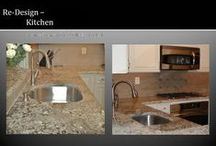 Betty Ross Decorating Kitchens and Baths / Re-Modeled Kitchen and Bath Projects