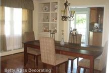 Betty Ross Decorating Dining Rooms / Decorated Dining Rooms