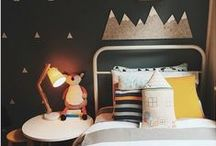 Children's Room Ideas / Style ideas for spaces designed for children: Kid's bedrooms, playrooms and family rooms