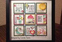 Stampin' Up! Samplers / samplers, collages