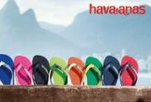 Havaianas / Havaianas, the iconic flip flop that's made in Brasil.