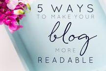 Blogging Tips / Blogging tips and tricks.