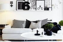 black and white / by debra szidon