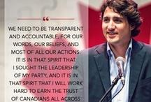 Team/l'Équipe Trudeau / Support Justin Trudeau and the Liberal Party of Canada! Exprimez votre soutien à Justin Trudeau et le Parti libéral du Canada!  / by Alex Guibord