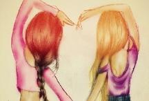 Best Friends <3 / by LolliBubble