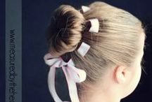 Girl-y hairstyles / Good ideas for the kids and crafty hands
