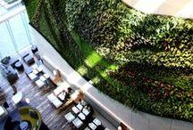 Hotel Icon / Hong Kong / Architects: Rocco Design Architects Ltd / Interior Designer: CL3 Architects Ltd Restaurants Designer: Conran & Partners / VT Suite Designer: Vivienne Tam / Vertical Garden Designer: Patrick Blanc / Uniform Designer: Barney Cheng/ Logo Designer: Tommy Li / Spa Operator: Angsana Spa