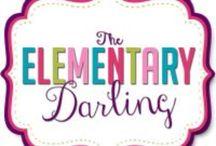 The Elementary Darling / an inside view of my first grade classroom :)http://www.theelementarydarling.blogspot.com