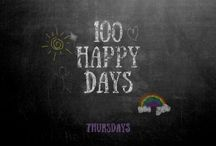 Spotlighted by 100 Happy Days! / Every Thursday 6 bloggers give YOU the chance to link up your HAPPY POSTS from the week. We spotlight our favorites here.   100 Happy Days Link Up
