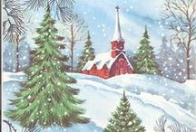 Christmas / Christmas past and some present.  / by Elaine Mazzo