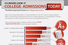 College Admissions / Advice for students on college and university admissions. / by StudentAdvisor.com | LearningAdvisor.com