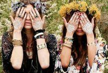 Gypsy fashion / Bohemian style