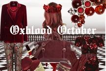 Oxblood October