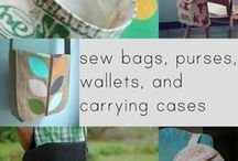 bags bags bags / make bags, pouches, wallets, bins ~ check out my other craft boards: paper love, felt on, make it with yarn, let's get crafty, make it to wear it, sew me, r r r, washi, handmade for you