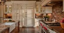 KITCHEN Design Ideas / The kitchen is the Heart of the Home and requires special space planning to make it not only beautiful but also efficient for working and entertaining.