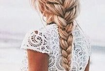 hairstyles / hairstyle ideas | updos | braids | easy hairstyles