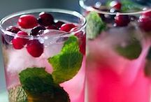 drink up / quench that thirst and stay hydrated!  alcoholic, non-alcoholic, smoothies, detox, coffee, etc.