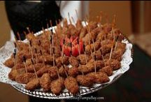 Wedding Food / Samples of food ideas for your weddings, from our Wedding Photography in The Tampa Bay Area.