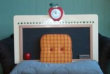 Kids Dream Rooms / Ideas for children's rooms including beds, headboards, bedding, wall treatments etc.  By Jan Addams