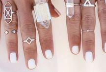 bling. / - rings // necklaces // bracelets -