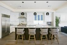 Dream Kitchens / Whip up some magic in these kitchens with all the bells & whistles!