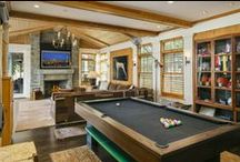 Exciting Entertainment Rooms / These rooms take entertainment to a whole new level! / by Coldwell Banker