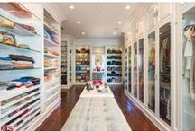 Colossal Closets / Put your prized possessions on display in these amazing closets!