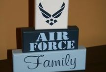 Life of an Air Force Wife / by Emily Brantley