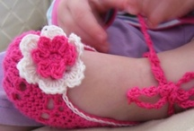 Baby Shoe Crochet Patterns / by Lisa van Klaveren