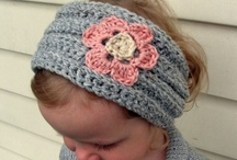 Headband & Headwrap Crochet Patterns / by Lisa van Klaveren