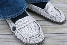 Ladies & Mens Slippers Crochet Patterns / by Lisa van Klaveren