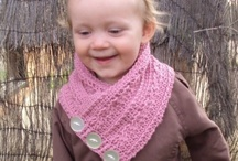 Scarf & Glove Crochet Patterns / by Lisa van Klaveren