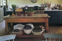 farm living ~ kitchens