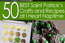 Irish - St. Patrick's Day / Ideas, Crafts, Recipes, Projects for the Spring - Primarily St. Patrick's Day.  A repository for chocolate mint recipes. / by Nancy Thomas