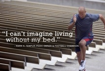 Our Owners - Mark Herzlich / See inside the lives of real Tempur-Pedic owners, and find out how their beds, accessories, and great sleep make all the difference.   Meet Mark Herzlich: football champion, cancer survivor, and proud Tempur-Pedic owner. / by Tempur - Pedic