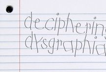 Dysgraphia / by Mary M