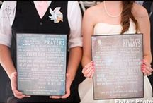 """Say """"I Do"""" to Home Wedding Decor / Sweet and creative ideas to make your big day feel even more special."""